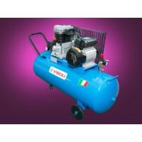 Compresor Aer 100L, Visoli VSC100, 8bar, 250l/min