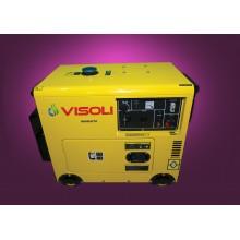 Generator Curent Electric Visoli VDSE-5500 5.5 KVA Motorina Insonorizat