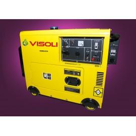 Generator Curent Electric Visoli VDSE-8000A + ATS 8 KVA Motorina Insonorizat