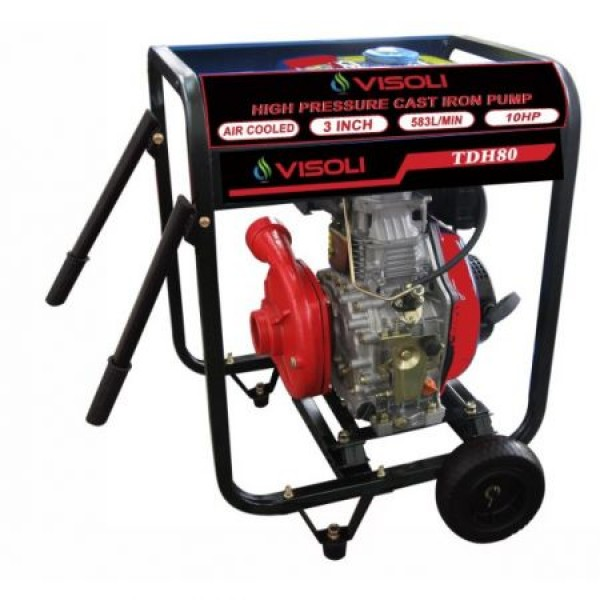 Motopompa Apa Diesel Visoli TDH100CLE