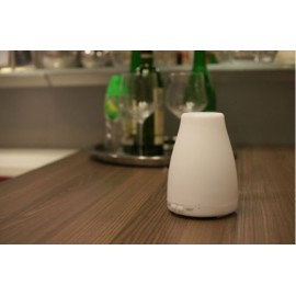 Umidificator Mini Difuzor Aromaterapie Ultrasonic 150 ml cu LED, 2 Setari de Timp - Purificator aer